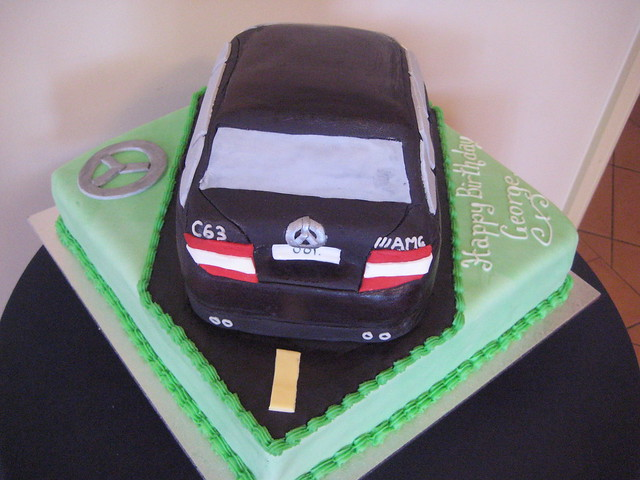 Photo for Mercedes benz cake design