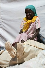 Backpack Project--Sumaya with new shoes