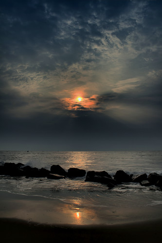 ocean sky beach clouds sunrise surf skies southcarolina charleston monte follybeach mysky morrisisland myskies mdggraphix