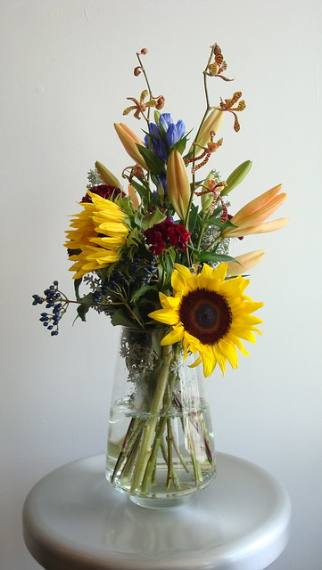 Summer mix of flowers for delivery from Spruce Flowers and Home, Minneapolis