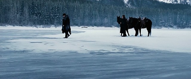 A capture from Dominik's 'Assasination of Jesse James by the Coward Robert Ford,' cinematography by Roger Deakins