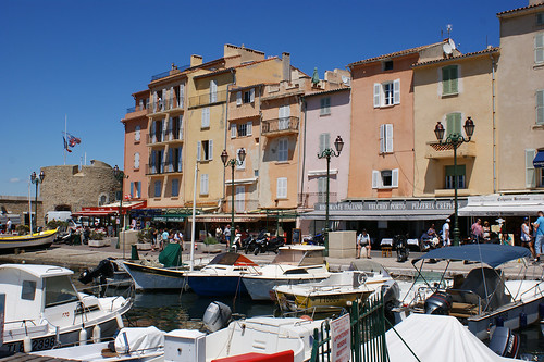 The beautiful markets of St. Tropez