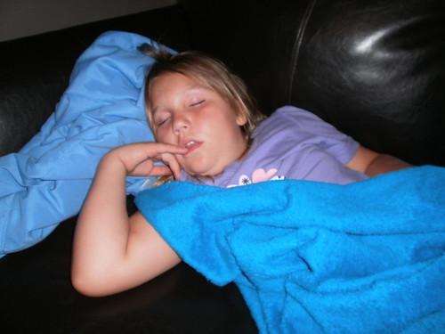 sleeping sound