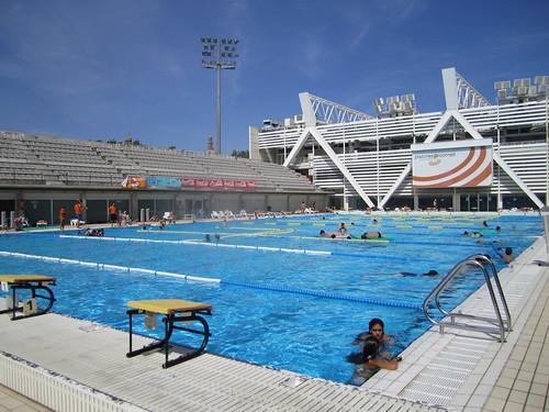 Piscines bernat picornell barcelona 39 s olympic swimming for Piscines picornell
