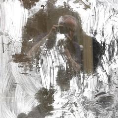 Auto-reflet peinture blanche