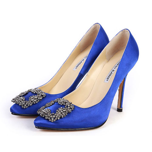 manolo blahnik shoes blue sex and the city