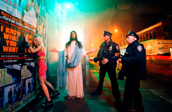 David LaChapelle, Intervention