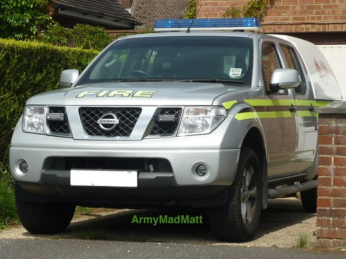 Hampshire Fire and Rescue - Nissan Navara