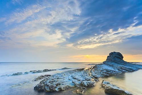 sea sunrise mare alba conero ancona scogli passetto