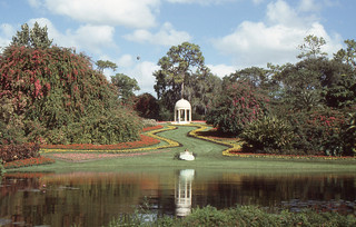 "Cypress Gardens - Gazebo and ""Southern Belle"""
