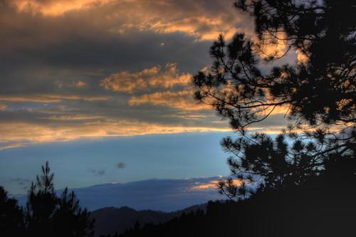 sunset clouds colorado durango