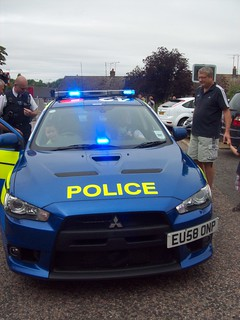Essex Police / TST Interceptor Car / TR06 / EU58 ONP