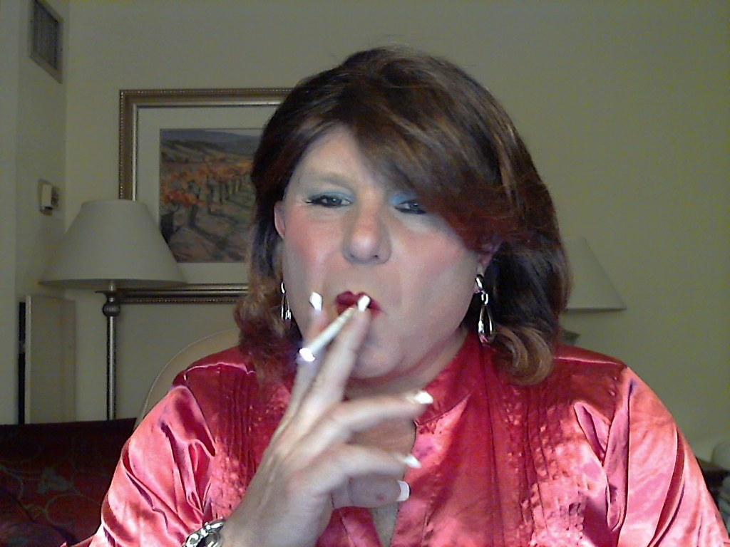 Tranny Smoking Fetish