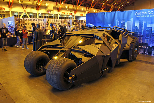 The Establishing Shot: LONDON FILM AND COMIC CON -  THE TUMBLER BATMOBILE by Craig Grobler