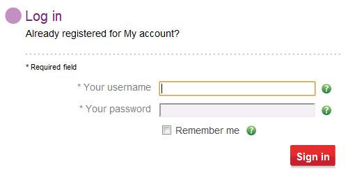 Vodafone Username