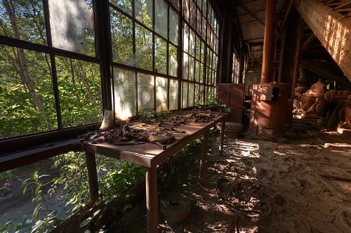 windows urban building abandoned st work bench industrial pennsylvania decay nick nicholas pa abandon u production coal exploration decaying breaker est 2010 urbex rban mahanoy