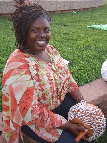 Shreveport Community Drum Circle: Leia Lewis by trudeau
