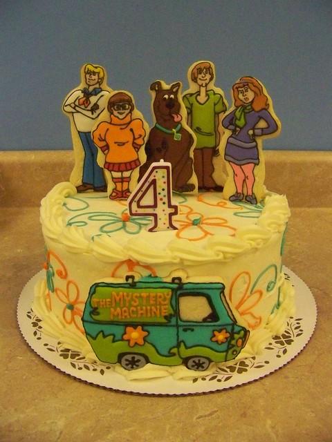 Scooby Doo Birthday Cake A Photo On Flickriver