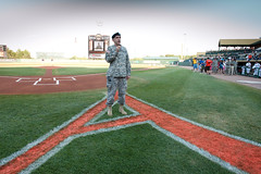 APG Leaders take part in Military Appreciation Night
