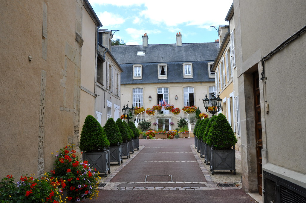 Bayeux (France) - Hotel d'Argouges - built 1734