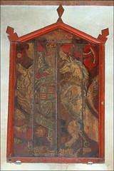 Stuart royal arms (partial)