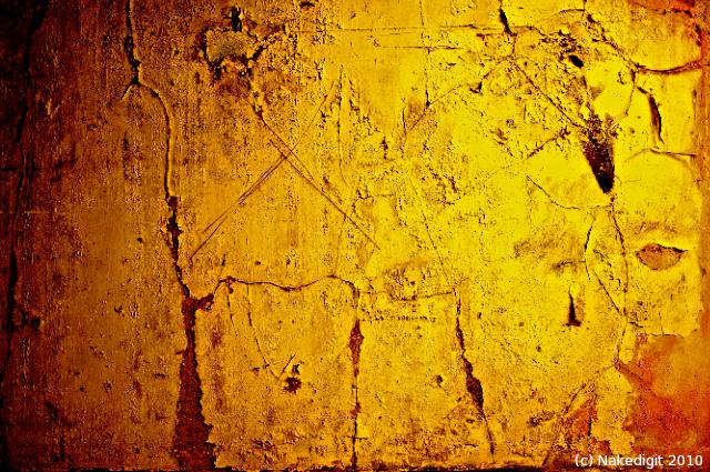 00000068 Custard Factory Texture Yellow