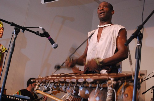 Seguenon Kone of Ensemble Fatien. Photo by Hunter King