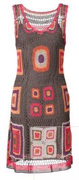 Gehaakte jurk / crocheted dress