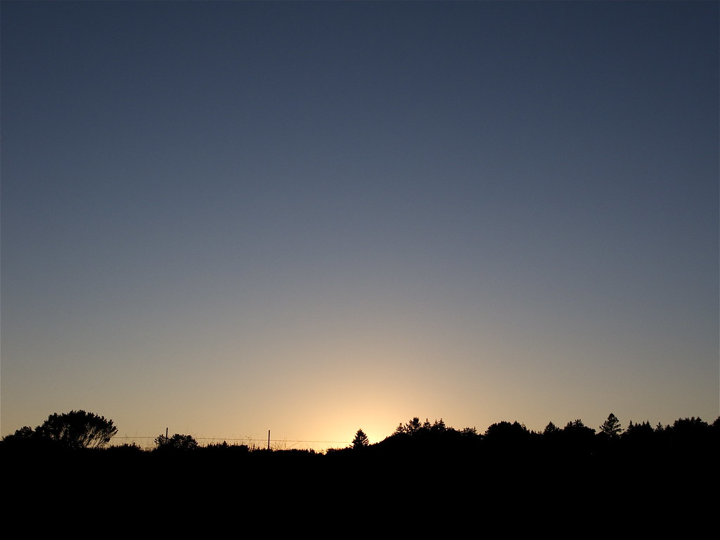 Sunset at UCSC
