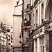 Rita Crane Photography: France / Paris / Le Marais / street / buildings / rooftops / chimneys / Rue du Temple, Marais District, Paris