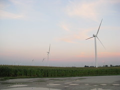 machine, windmill, plain, line, wind farm, electricity, wind turbine,