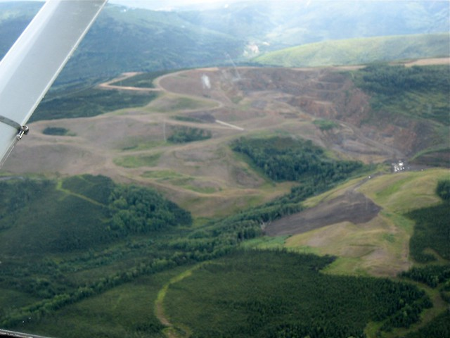 Open Pit Mine near Fairbanks