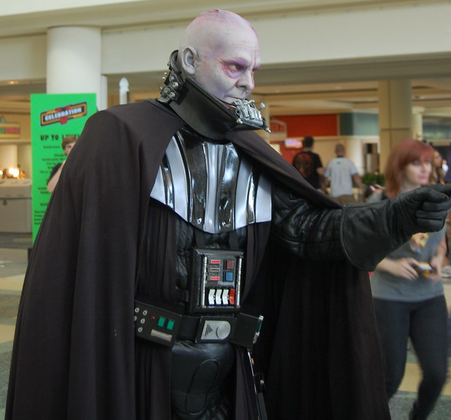 Helmetless Vader | Flickr - Photo Sharing!