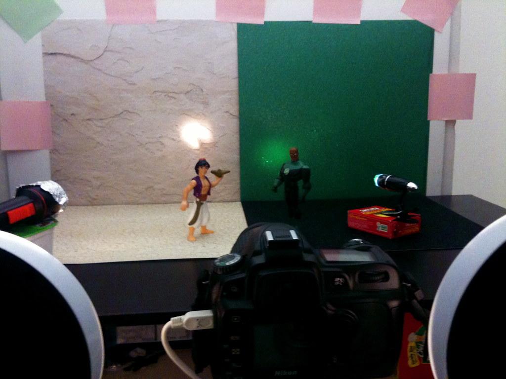 Aladdin vs. Green Lantern John Stewart