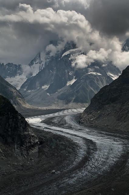 La mer de glace, Mont Blanc