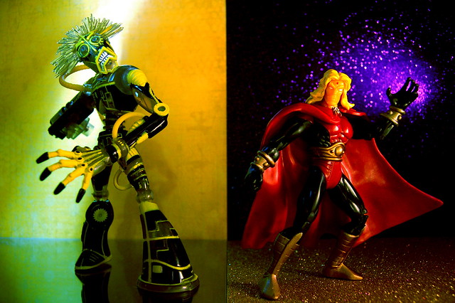 Warlock vs. Adam Warlock (229/365)