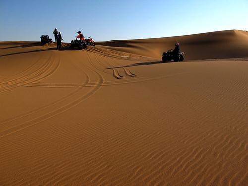 Quad Biking in Namibia