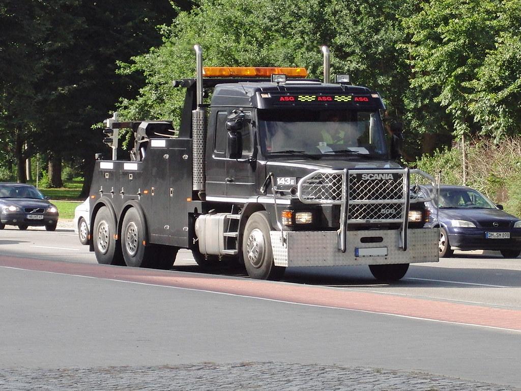 Scania 500 Truck - Abschleppwagen