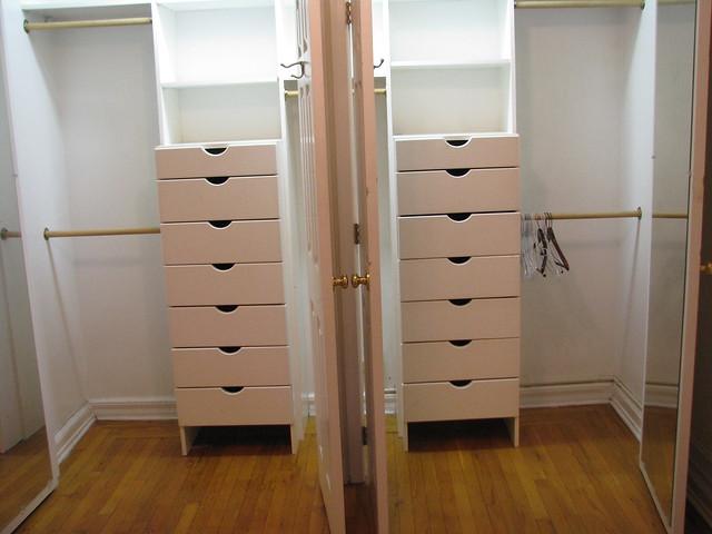 two built in bedroom closet organizers flickr photo. Black Bedroom Furniture Sets. Home Design Ideas