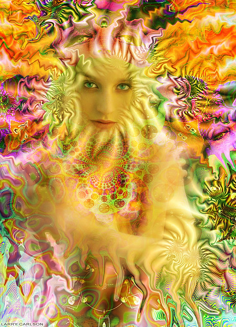 LARRY CARLSON, FRIZZ - 9, c-print, 30x34in., 2009.