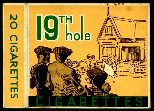 Cigarette Packet - 19th Hole