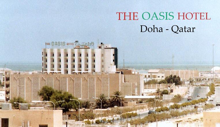 Oasis Hotel in Doha, Qatar.