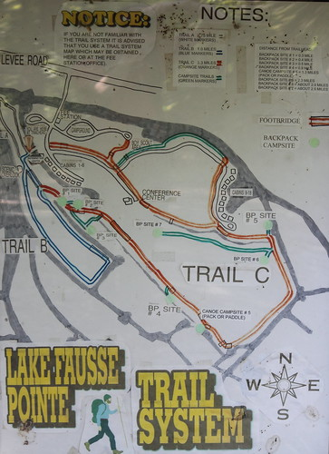 map trails guide lakefaussepointestatepark
