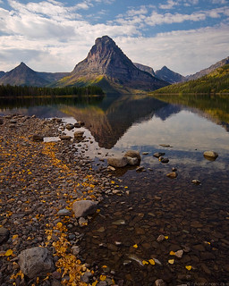 Sinopah Mountain, Autumn, Glacier National Park