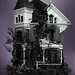Three Story Victorian with Tree by !snap!