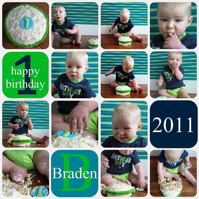 Braden's Cake Smash