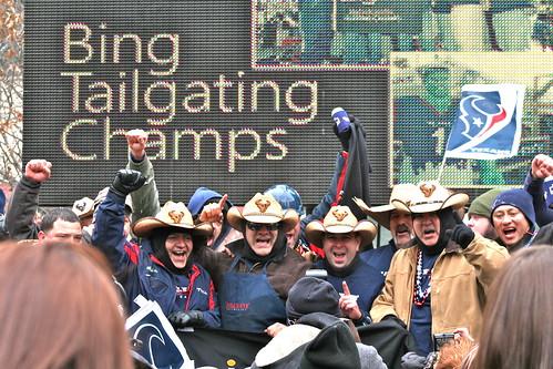 Tailgating champions