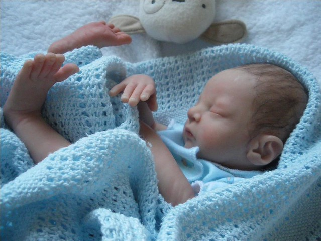 Ooak polymer clay baby doll flickr photo sharing