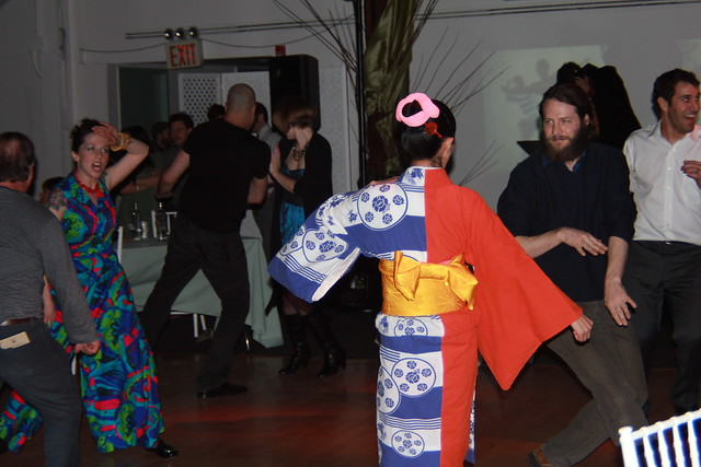 Dancing at Small Scale. Photo by Rebecca Bullene.