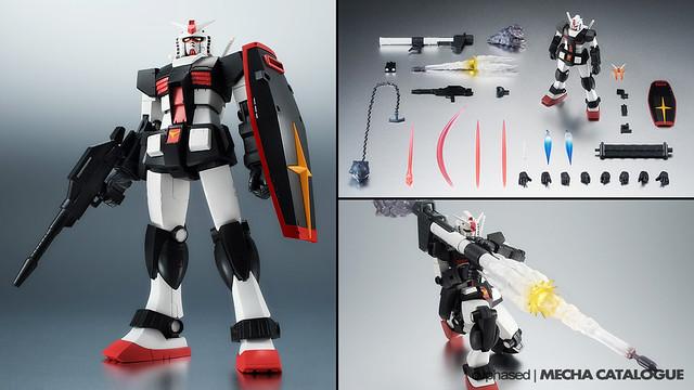 ROBOT Damashii <Side MS> Prototype Gundam ver. A.N.I.M.E.